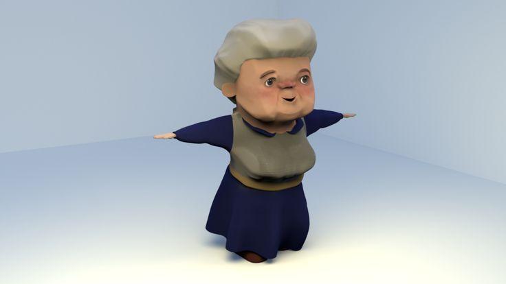 Animált karakter – Julia Horvath