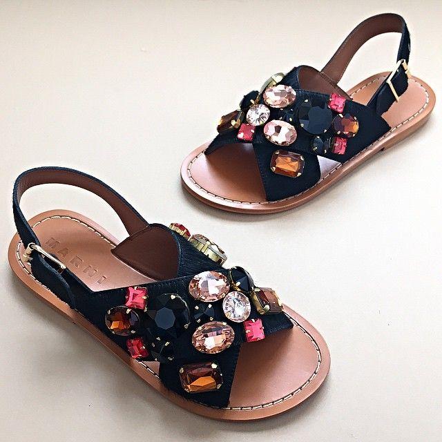 Marni jewel sandals