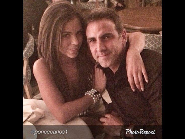 Carlos Ponce y su novia Ximena Duque