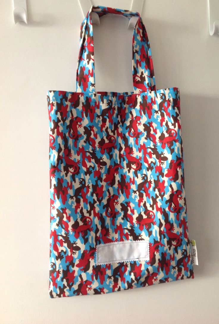 Dotty Frogs, Library bags