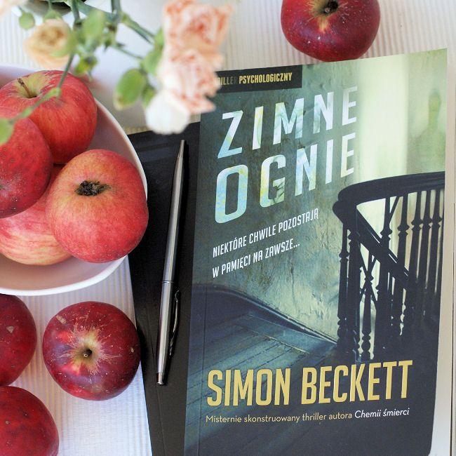 """Bookiecik - blog o książkach, literatura kobiecym okiem.: """"Zimne ognie"""" Simon…"""