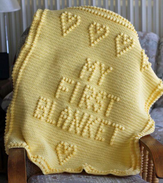 751 mejores im genes de mantas bebe crochet en pinterest - Manta de bebe a ganchillo ...