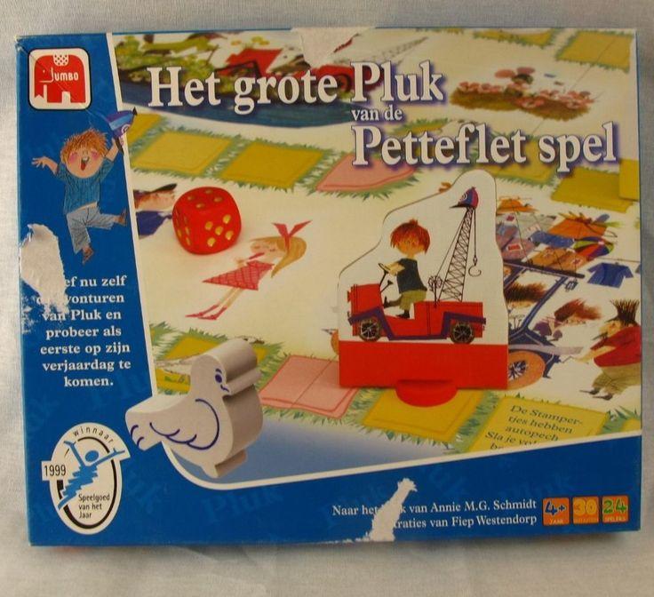 Het Grote Pluk van de Petteflet Spel Boardgame 2005 Netherlands Board Game Dutch #Jumbo