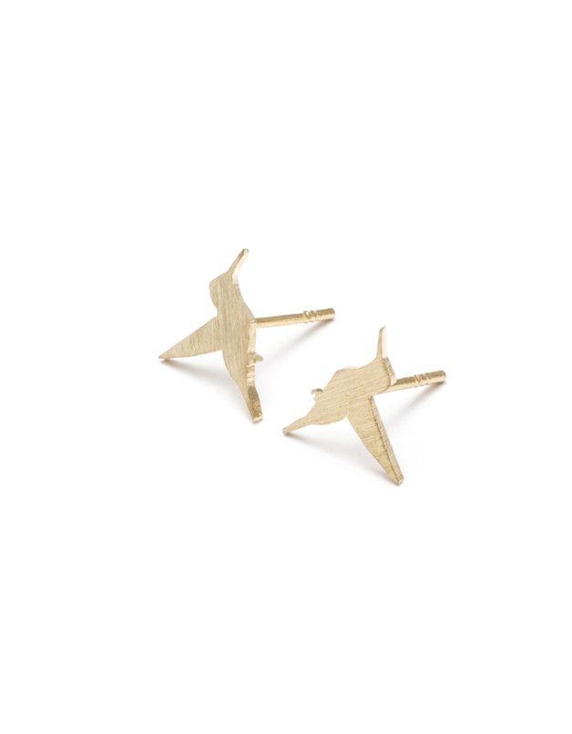Kolczyki AK Petite kolibry - helloanimalkingdom - Kolczyki wkrętki