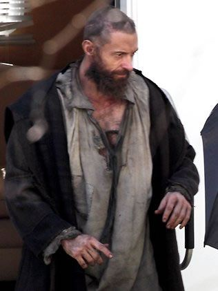 Hugh Jackman in Les Miserables. Love this book.