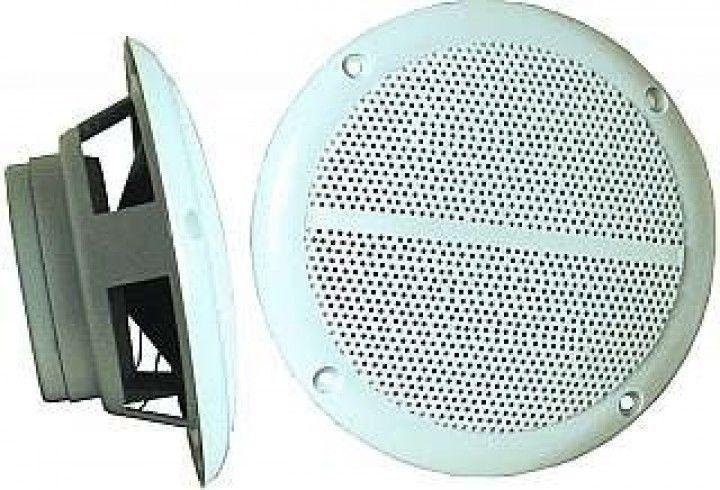 1 Paar Lautsprecher Deckenlautsprecher Einbaulautsprecher 2x40W/Bad/Sauna/Boot