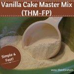Vanilla Cake Master Mix - FP