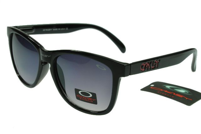 Oakley Limited Editions Sunglasses Black Frame Gray Lens 0758