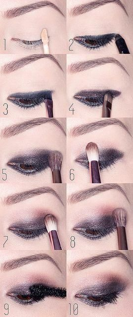 Smokey, rosy eye tutorial with Naked 3 from Urban Decay. (Can't wait to get the new Naked3 Palette.)