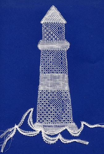 dentelle contemporaine, phare