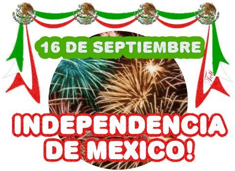 Independencia de México imagen #7227 - 16 de Septiembre, Independencia de México! - Animación, Fuegos Artificiales.