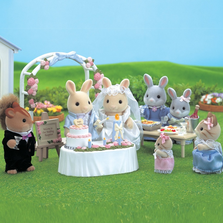 Sylvanian Families Wedding Party