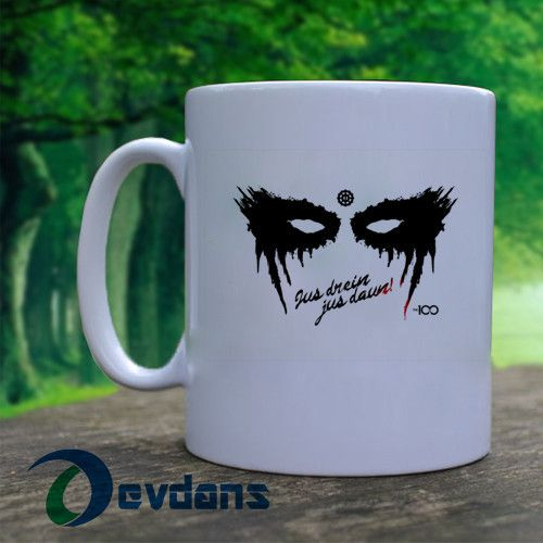 The 100 - Jus Drein Jus Daun Mug, Ceramic Mug, Coffee Mug , Tea Mug, Milk Mug