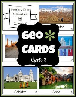Geo Cards - Second Semester at And Here We Go! Free download!