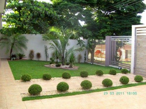 fotos jardins pequenos residenciais: Residenciais no Pinterest