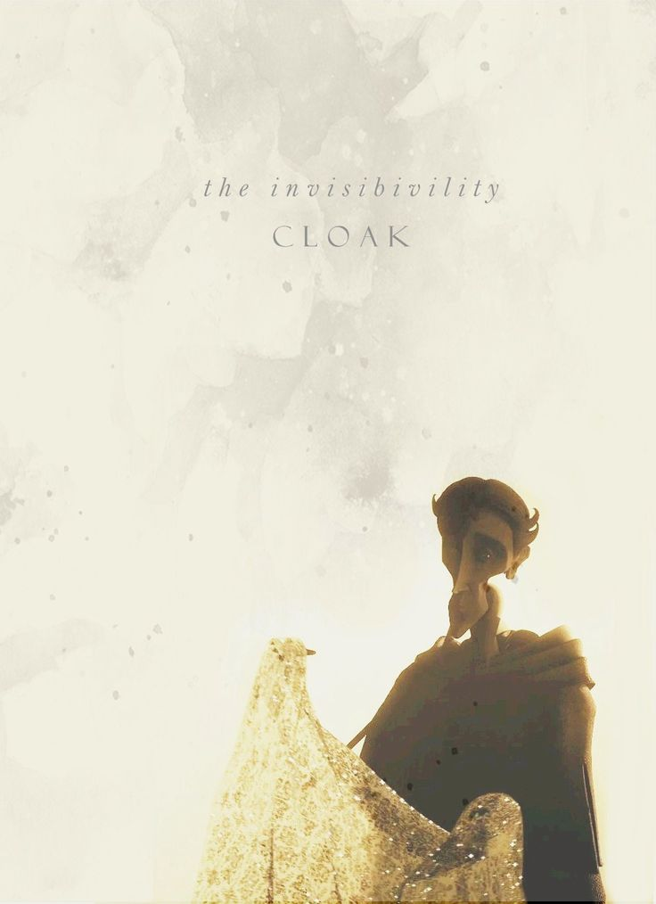 The Invisibility Cloak from the Tale of the Three Brothers