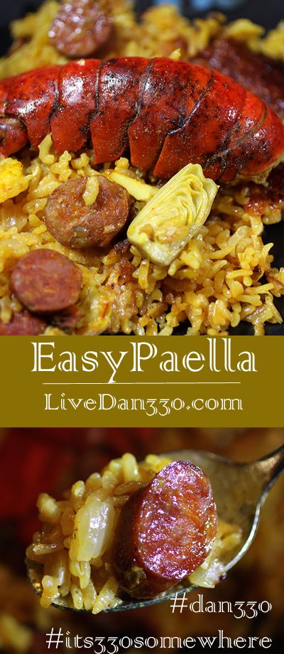 Easy Paella Recipe — Dishmaps