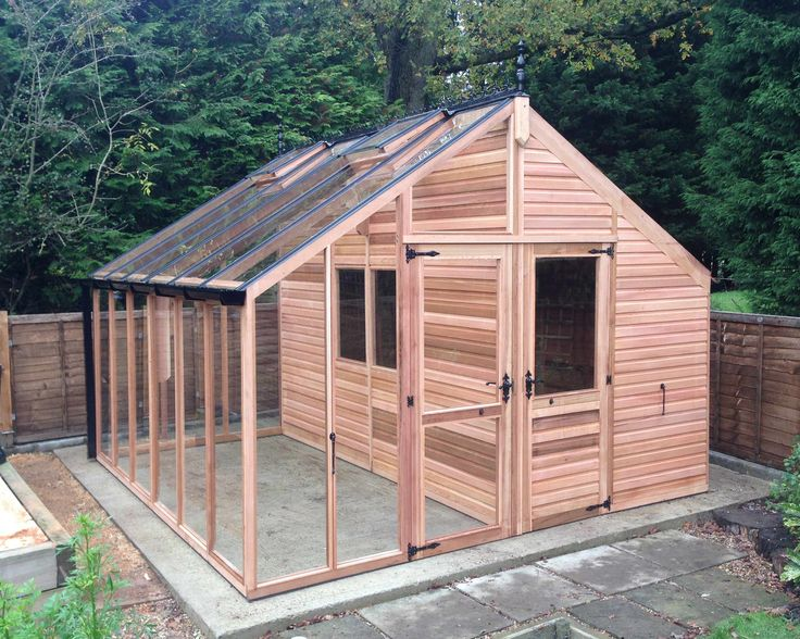 Centaur Shed/chickencoop Combo Greenhouse with Shingle Roof
