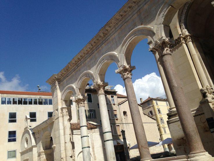 Dioklecijanova palača | Diocletian's Palace w Split, Splitsko-Dalmatinska Županija