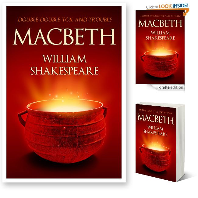 The reson that I placed this cover sheet in the inefficient area is because of the main objective at the front cover. As the image above the front cover has contain a pot on it, however, I could not find any connection between the Macbeth story with the pot.