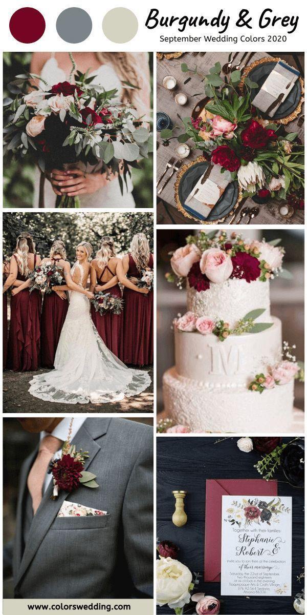 September Wedding Ideas Wedding Photos Fall Wedding Ideas For September In 2020 Hochzeit Farbthemen Herbsthochzeitsfarben Blumenstrauss Hochzeit