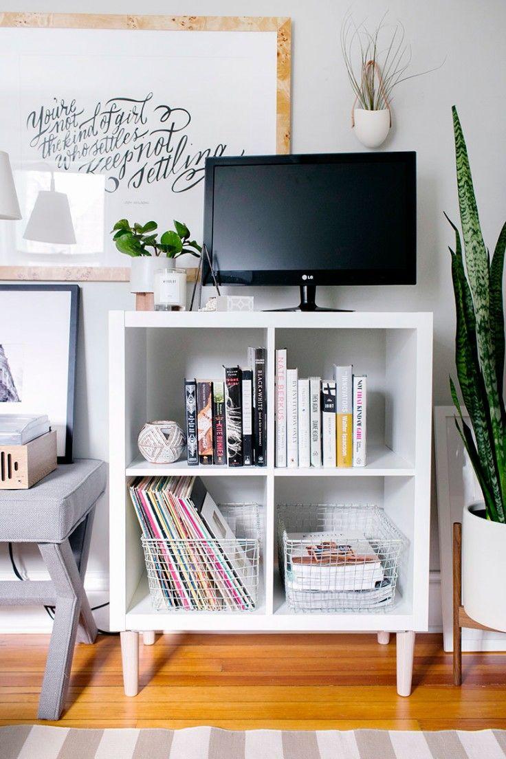 Más de 25 ideas increíbles sobre estantería IKEA Kallax en ...
