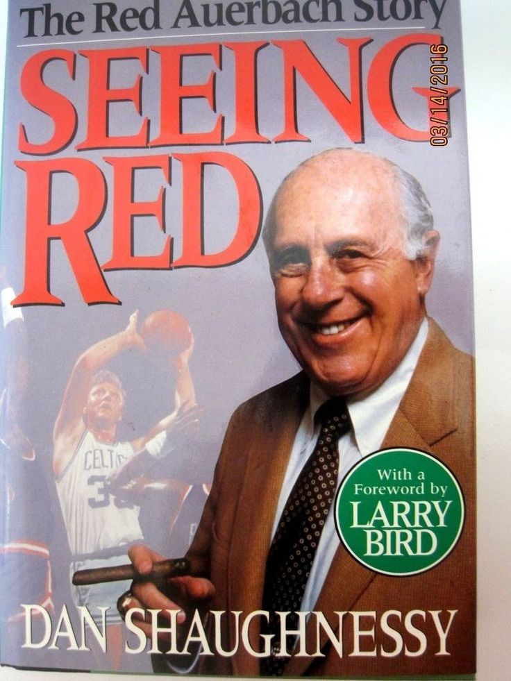Seeing Red : The Red Auerbach Story by Dan Shaughnessy (1994, Hardcover)CELTICS