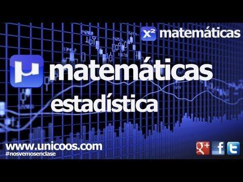 Estadistica 01 SECUNDARIA (4ºESO) matematicas - YouTube