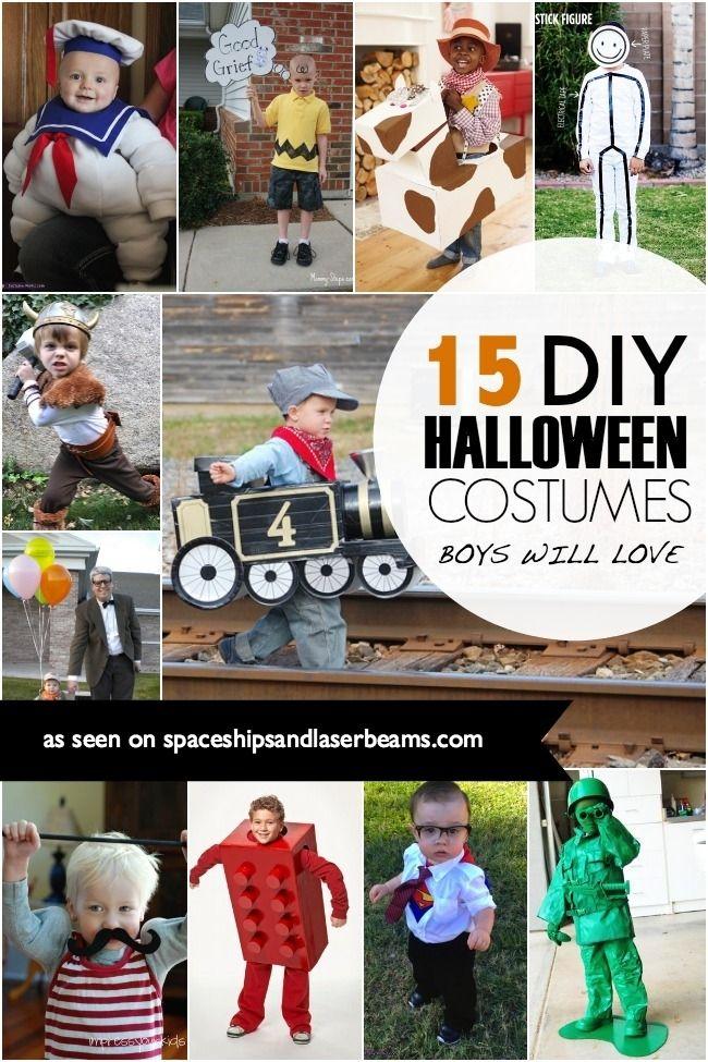 DIY Halloween Costumes for Boys