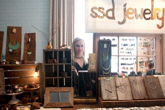 How to Display Your Wares at Craft Shows - SSD Jewelry - The Rock & Shop Market