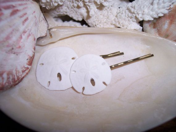 Mermaid Hair Accessories Pair of by seashellsbyseashore