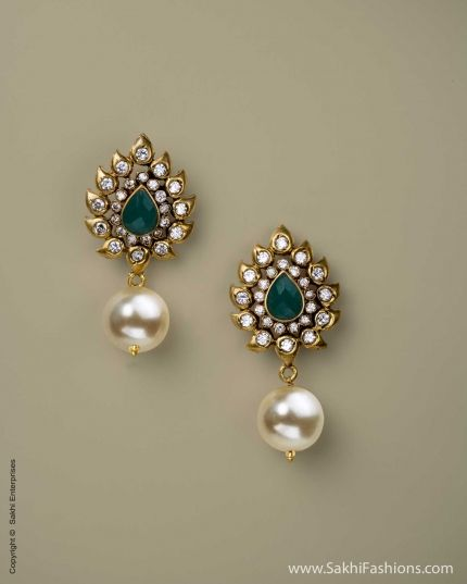 Earring Green