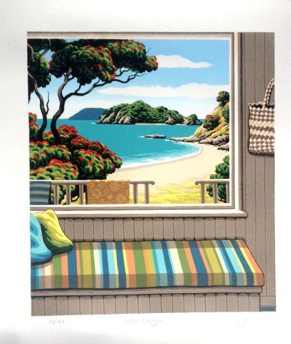"Check out Tony Ogle Print ""Harotaonga"" at New Zealand Fine Prints"