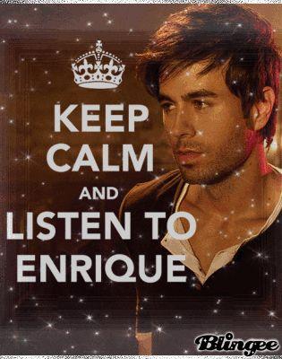 or just start at him for quality Enrique time...@Caitlin Flint