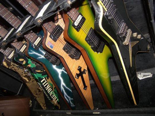 Dimebag Darrell Pantera guitars
