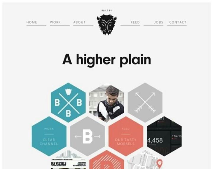 Minimalistic #webdesign