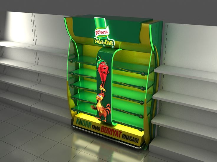 Knorr shelf in shelf on Behance