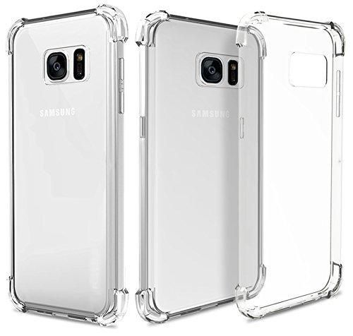 Galaxy S7 Edge Case - Silicon TPU Clear Transparent Cover Full Body Protective Case for Samsung Galaxy S7 Edge Case