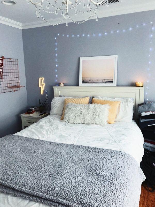 ɪsᴀʙᴇʟʟᴀғᴀʙᴀ Blue Grey Bedroom Inspiration 🌩 Aesthetic