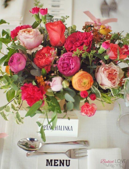 piwonie i róże angielskie