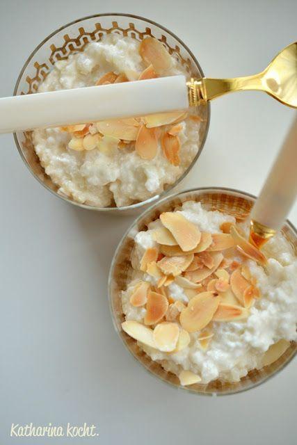 Sweet Sugarfree Sunday: Mandelmilchreis und die zuckerfreie Woche 5 | Katharina kocht