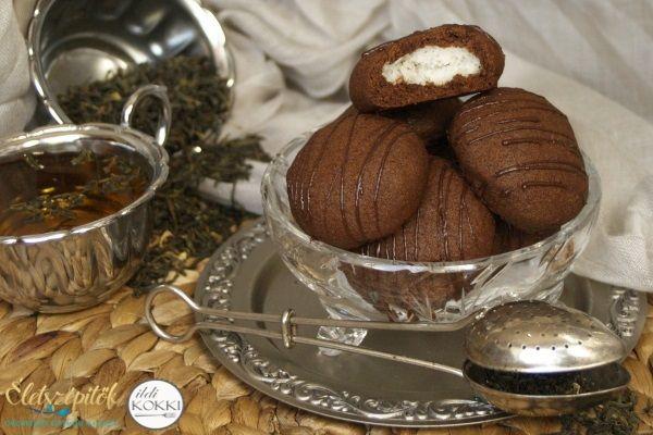 Török kokostar: kókusszal töltött csokis keksz