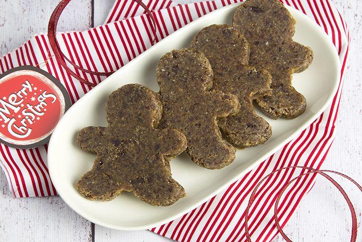 Raw Gingerbread Men. Raw. Gluten Free. Paleo. Vegan. Refined Sugar Free.