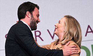 Ben Affleck's charity had Hillary Clinton private email but Chris Stevens didn't   Daily Mail Online