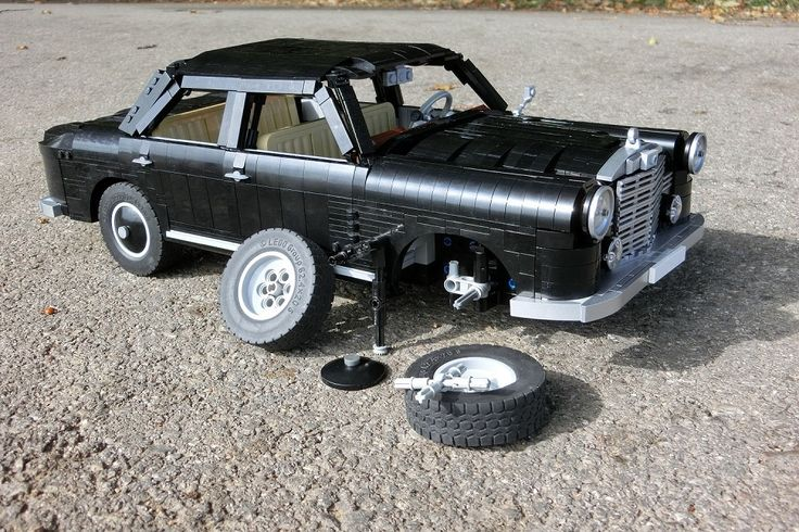 Lego Mercedes Benz 180 Ponton   Reparatur
