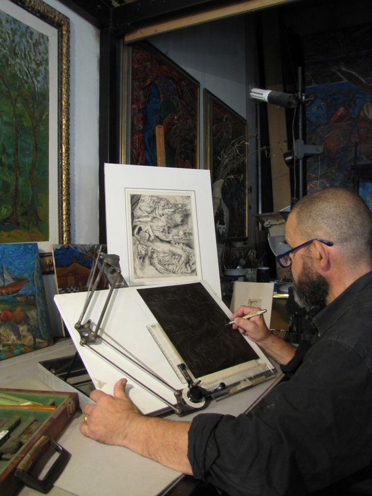 An artist's tale: the Bottega dell'Acquaforte