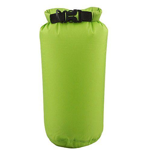 [ wasserfester Stausack ] iisport� Fold Drybag Wasserdichte Packs�cke 8L Stausack Packsack wasserdicht Packsack leichte Organizertaschen Stausack f�r Outdoor Kanu Fahrradtouren Reise Gr�n