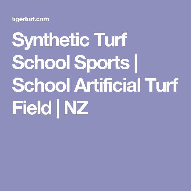 Synthetic Turf School Sports | School Artificial Turf Field | NZ