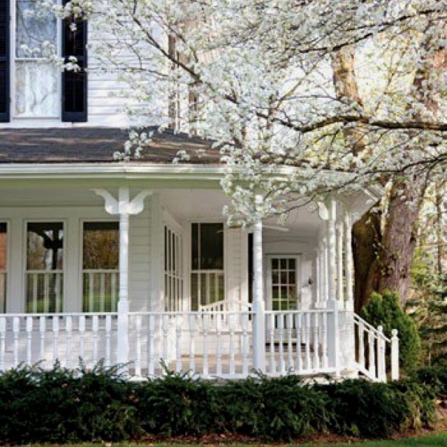 Wrap Porch Home Ideas Pinterest