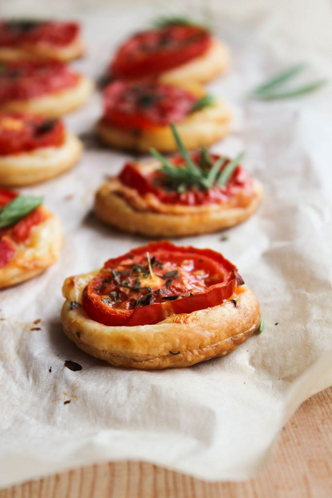 Tartelette tomate et cheddar - aime & mange